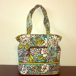 Vera Bradley Island Blooms Over the Shoulder Bag
